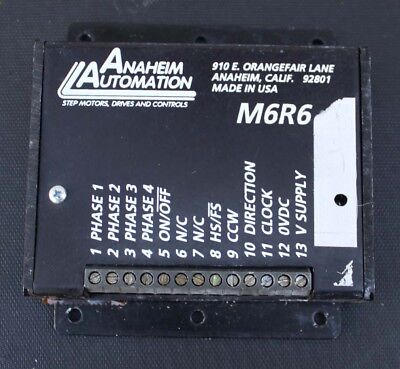 Anaheim Automation M6r6 Lr Step Motor Driver