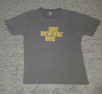 Dave Matthew's Band Summer Tour 2006 Grey Band T Shirt Large