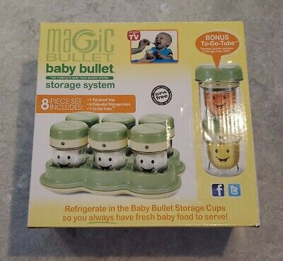 Magic Bullet Baby Bullet Storage System 8 Piece Set
