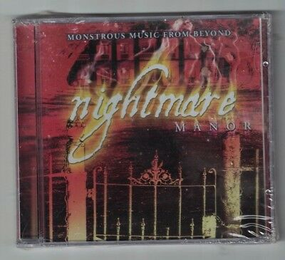 Nightmare Manor Monstrous Music From Beyond CD - NEW - Delta Entertainment