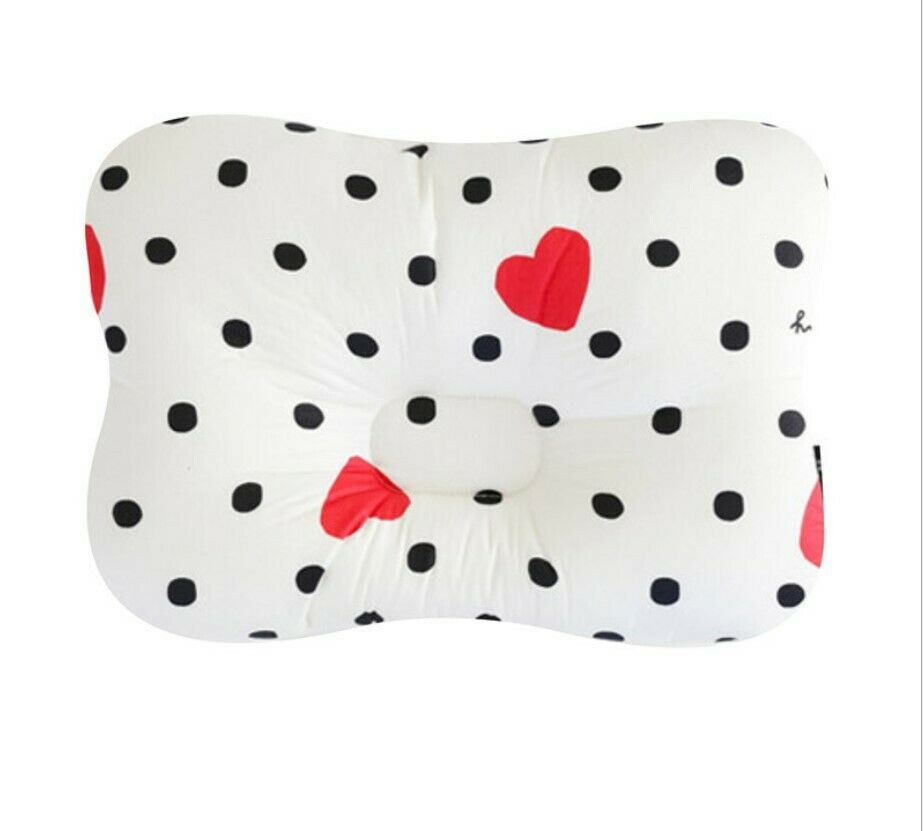 Baby Infant Newborn Pillow Flat Head Sleeping Support Prevent Soft Breathable #10