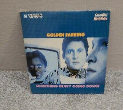 """Golden Earring Something Heavy Going Down 8"""" Laserdisc Music  TESTED"""