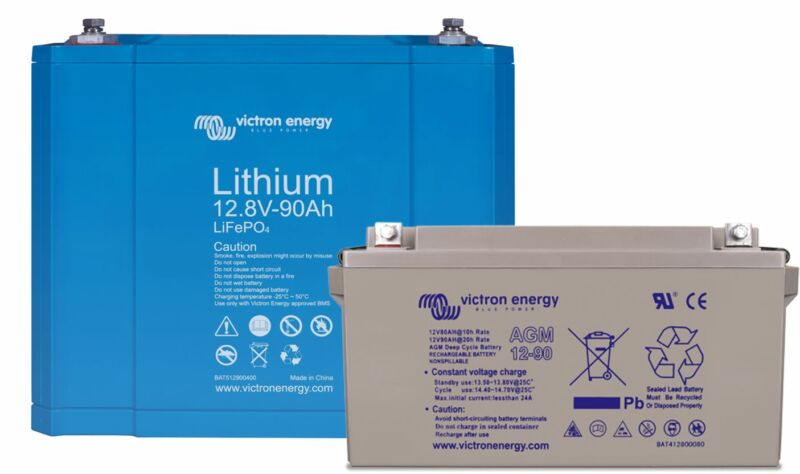 Lithium-ion battery vs. AGM battery: what are the differences?