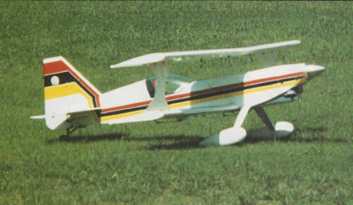 Giant Ultimate 120 Aerobatic Biplane Plans, Templates and Instructions 69ws