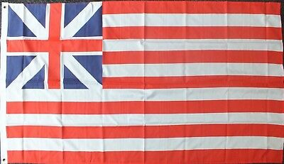 Continental Colors Flag 5x3 American History USA 1776 Revolution Revolutionary