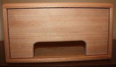 Custom Amp Head Cabinet - rawcabs Filmosound 385 Custom African Mahogany head cabinet for vintage tube amp