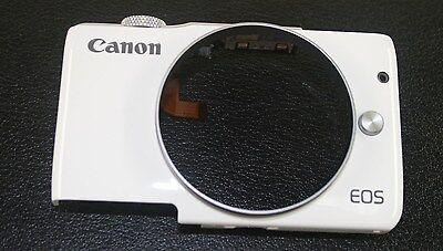 CANON EOS M10 WHITE DIGITAL CAMERA TOP & FRONT COVER NEW GENUINE