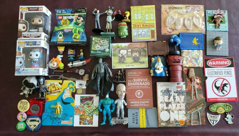 Loot Crate Random Toy Lot Bundle & Items & Random Toys SEE PICS