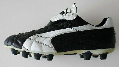 82eb400a4bb768 New Puma King SL I FG Soccer Cleats EU-39 Black Leather Football Boots Size  US-7