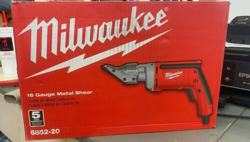 Milwaukee 6.8 Amp 18-Gauge Shear 6852-20 BRAND NEW 1 Day Shipping