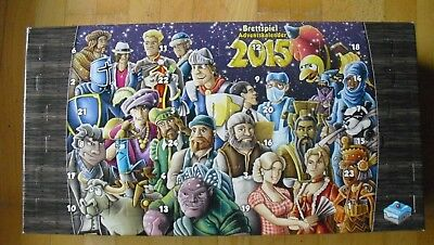 Brettspiel Adventskalender 2015 (Individual Mini-Expansions) (- Kalender 2015)