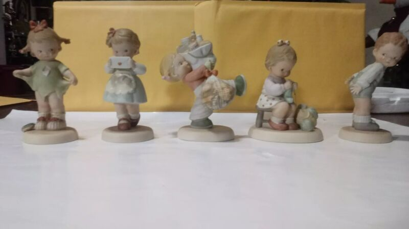 5 Lot 1987-89 Memories of Yesterday Figures  where