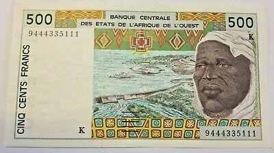 **   SENEGAL   (BCEAO)     500  francs   2001   p-710  (K)    TTB   ** #F3#