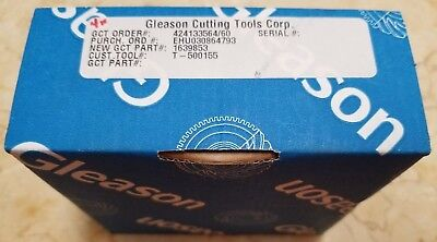 Gear Shaping Cutting Cutter 36 Teeth Flat Gleason - New With Free Shipping