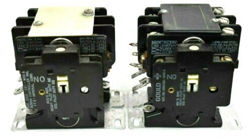 Gould 2200 BE530AA / Rowan 2200 EB430BA Contactor w/ 2200-EBI Model A Auxillary