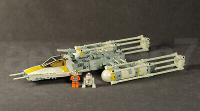 LEGO Star Wars Y-wing Fighter 7658 Set Minifigures