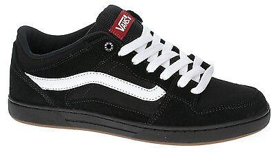 Vans BAXTER Mens Shoes NEW Sizes 6.5-13 BLACK WHITE GUM Skate Footwear FREE SHIP Blk Mens Footwear