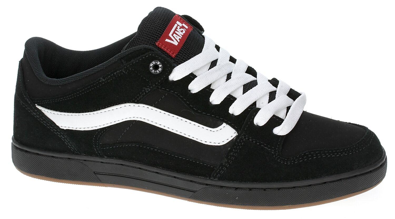 Vans Baxter Herren Schuhe (Neu) Größe 7 13 Black White Gum Skate Schuhe kostenloser Versand