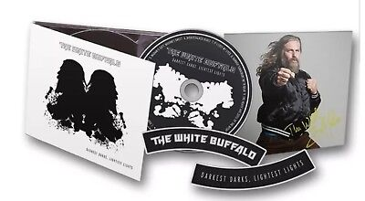 THE WHITE BUFFALO - DARKEST DARKS,LIGHTEST LIGHTS SIGNED EDITION  CD NEW