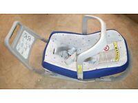 Original Volvo Kindersitz strampelschutz