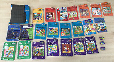 LeapPad Pro Learning System + 25 Games (22 Books) Tested & Works Great Free Ship