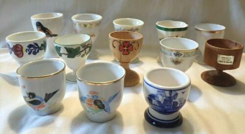 Lot of 14 Vintage Egg Cups Goebel Spode Boch GOA
