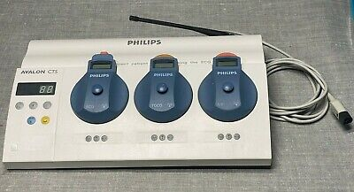 Philips Avalon Cts M2720a - Fetal Monitor Base W M2725a M2726a M2727a
