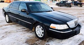 Lincoln Town car Uber select, X & delivery