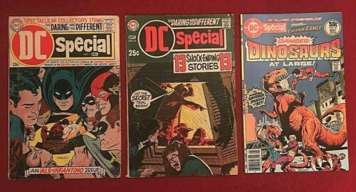 DC Special lot #1 GD/VG, #4 GD/VG, #27 VF 1968 DC