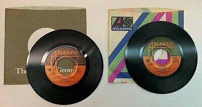 Lot of 2 ABBA 45 RPM Records - Dancing Queen Waterloo Atlantic NM must own 70s