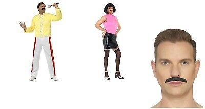 Men's Queen Freddie Mercury Tribute Fancy Dress Costume Festival Pride Stag 80's](Freddie Mercury Costumes)