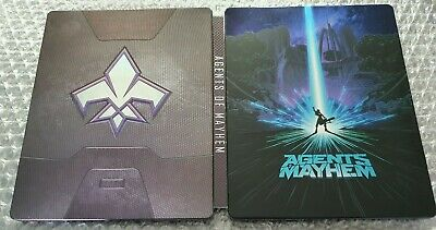Agents Of Mayhem - limited Edition Steelbook - G2 - Very Rare - Ps4 - No Game, used for sale  Shipping to Nigeria