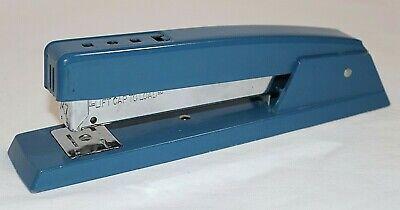Vintage Heavy Duty 7 34 Swingline 747 Blue Enamel Stapler 94-41 Made In Usa