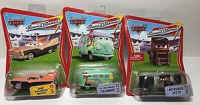 Disney Cars - Fillmore, Hank Halloween Murphy, Nitroade Pitty - Hard To Find