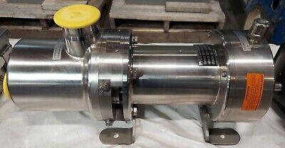 Ampco Bornemann Slh-4u-2000 Twin Screw Pump 2.5 Sanitary Positive Displacement