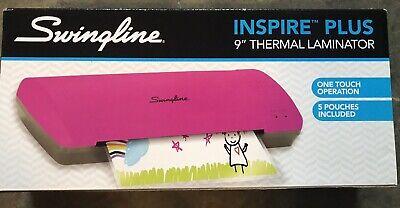 Swingline Inspire Plus Thermal Pouch Laminator 9 Width Pinkgray