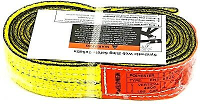 Lift-all En1602dx8 Endless Type 5 Polyester Web Sling 1 Ply 8 Ft. X 2 W