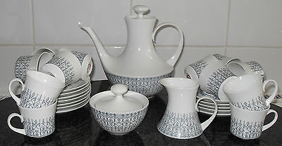 Retro Demitasse Coffee Set Perfect Condition