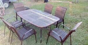 7 piece out door furniture Caboolture South Caboolture Area Preview