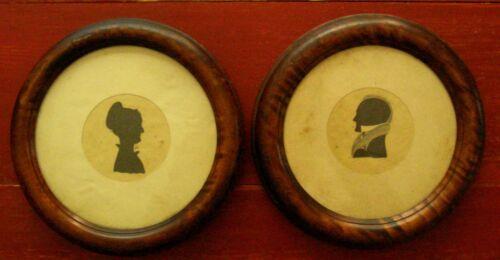 1825 Justin Salisbury Antique American Silhouettes RARE