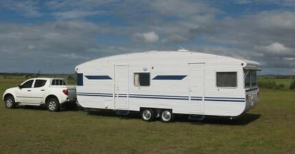 Classic Caravan and Shade Shed