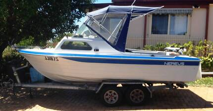 18' Nereus Half Cab with rebuilt 250 Ford Inboard Motor Modbury Tea Tree Gully Area Preview