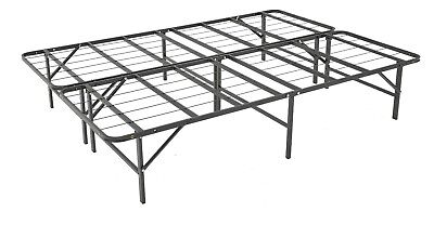 14 Inch Queen Size Mattress Foundation Platform Bed Frame/Box Spring Replacement for sale  Winnipeg