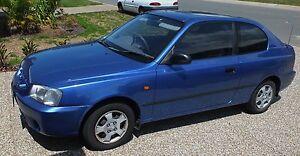 2001 Hyundai Accent Hatchback Caloundra West Caloundra Area Preview