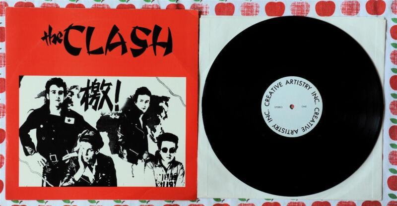 The Clash Vinyl Records Ebay