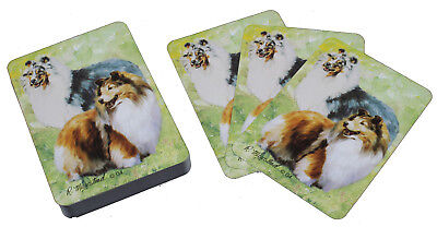 Shetland Sheepdog Sheltie Breed of Dog Pack Playing Cards Game Perfect Gift