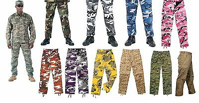 Military BDU Pants - Army Cargo Fatigue Camouflage Camo Camouflage Fatigues Bdu Pants
