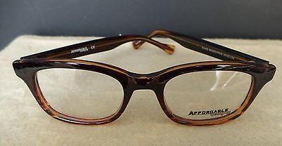 NEW! AFFORDABLE  Trendy Dark BROWN to LIGHTER Fade EYEGLASS Frames  (Trendy Women's Eyeglass Frames)
