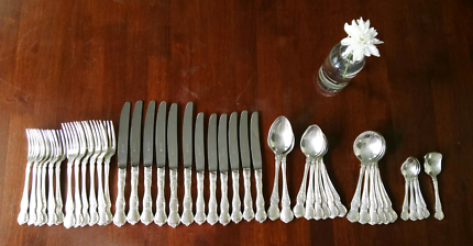 Vintage 43pce Silver plated Rodd Silverware 'Camille' set