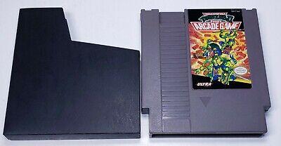 Nintendo NES Teenage Mutant Ninja Turtles 2 The Arcade Game TESTED